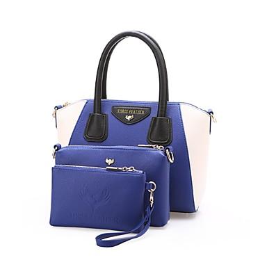Damen Taschen PU Bag Set für Hochzeit Veranstaltung / Fest Normal Formal Ganzjährig Blau Schwarz Gelb Braun