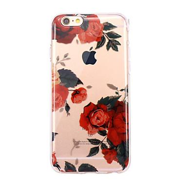 غطاء من أجل Apple iPhone X إفون 8 نحيف جداً شفاف نموذج غطاء خلفي زهور ناعم TPU إلى iPhone X iPhone 8 Plus iPhone 8 iPhone 7 Plus iPhone 7