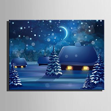 LED-Leinwand-Kunst Ein Panel Leinwand Horizontal Druck Wand Dekoration For Haus Dekoration