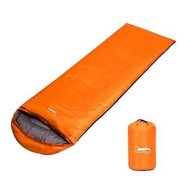 حقيبة النوم حقيبة مستطيلة -15 -25 0°C الدفء حجم قابل للتعديل متنفس قابلة للطى 225X75 التخييم والتنزه مزدوج
