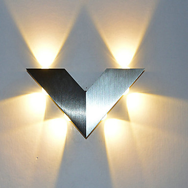 OYLYW Mini Style LED / Modern / Contemporary / Novelty Wall Lamps & Sconces Bedroom / Entry Aluminum Wall Light 85-265V 1 W / LED Integrated