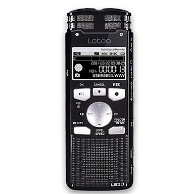 LS30 Beépített hangszóró 3,5 mm Jack dugó Támogatás 4 GB