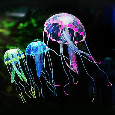 Aquarium Dekoration Quallen Silikon