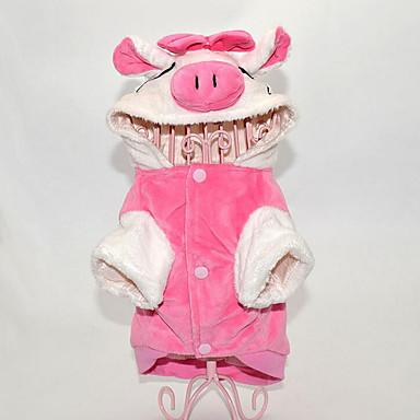 Hund Kostüme Overall Hundekleidung Tier Baumwolle Kostüm Für Haustiere Herrn Damen Lässig / Alltäglich Cosplay