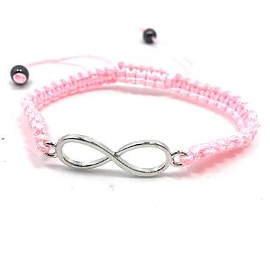 voordelige Herensieraden-Heren Dames Wikkelarmbanden geweven Bloem Roze parel Armband sieraden Donkerblauw / Roze / Lichtblauw Voor Dagelijks Causaal Straat