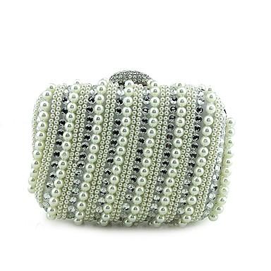 Damen Taschen Spezielle Werkstoff Abendtasche Perlenstickerei Metallkette für Hochzeit Veranstaltung / Fest Normal Formal Büro & Karriere