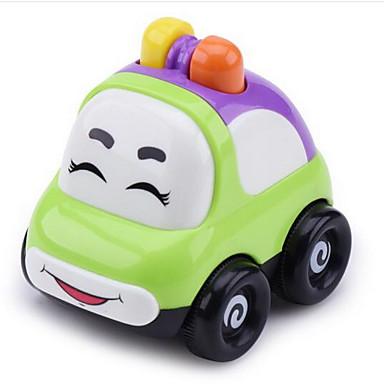 Játékautók Fejlesztő játék Felhúzós járművek Hátrahúzós autó Rendőrautó Autó Műanyagok Uniszex Gyermek Ajándék