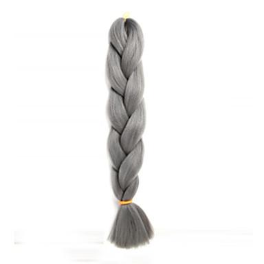 צמות Box מְלָאכוּתִי 1pc / Pack צמות ג'מבו צמות שיער 3