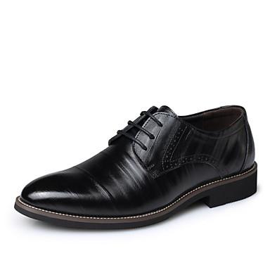 abordables Meilleures Ventes-Homme Chaussures Formal Cuir Printemps / Automne Oxfords Noir / Jaune / Bleu / Soirée & Evénement / Combinaison / Soirée & Evénement / EU40