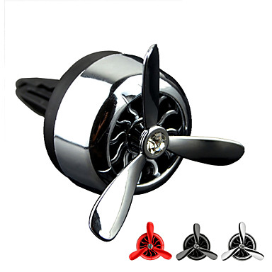 Car Styling Air Force 3 Air Conditionercar Vent Perfums Air Freshener Solid Fragrance Car Aromatic Cologne Vent Clip