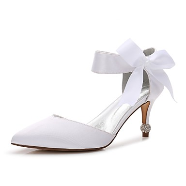 c23565129a63 cheap Wedding Shoes-Women  039 s Satin Spring   Summer Comfort   D