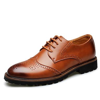 Férfi cipő Bőr Tél Ősz Formai cipő Kényelmes Félcipők Kombinált mert Esküvő Hétköznapi Hivatal és karrier Szabadtéri Party és Estélyi