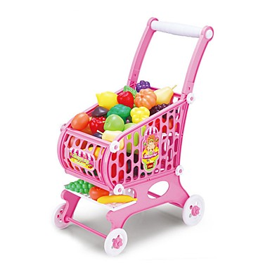 Toy Car Grocery Shopping Pretend Play Novelty Vegetables Fruit Large Size Simulation Plastics Unisex Kid's Gift
