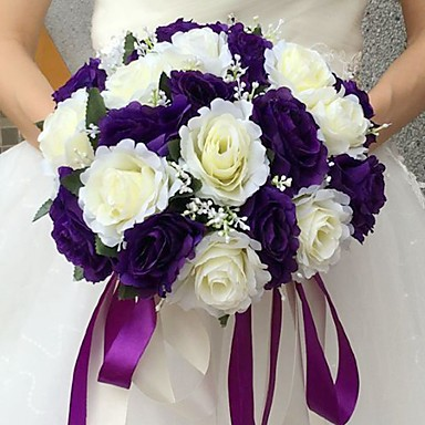 Wedding Flowers Bouquets Wedding Silk 9.84