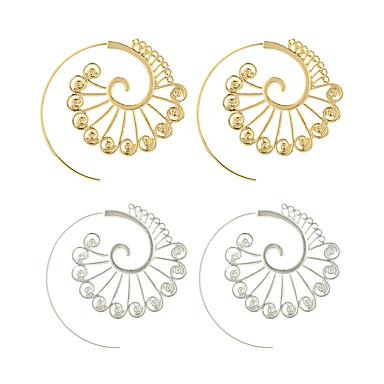 Női Francia kapcsos fülbevalók - Virág Személyre szabott, Nyilatkozat Arany / Ezüst Kompatibilitás Hétköznapi / Alkalmi