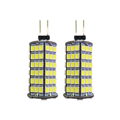 2pcs 4W 320lm G4 LED betűzős izzók 120 LED gyöngyök SMD 2835 Meleg fehér / Fehér 12V