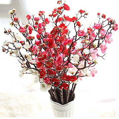 Artificial Flowers 10 Branch European Plum Tabletop Flower