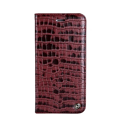 Case For Apple iPhone 7 Plus iPhone 7 Card Holder Shockproof with Stand Flip Full Body Cases Solid Color Soft PU Leather for iPhone 7