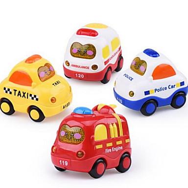 Játékautók Fejlesztő játék Felhúzós járművek Hátrahúzós autó Klasszikus autó Repülőgép Autó Műanyagok Uniszex Gyermek Ajándék