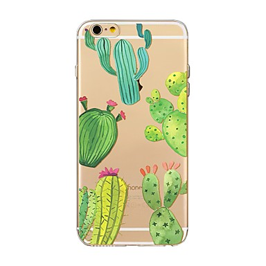 Case For Apple iPhone X iPhone 8 Transparent Pattern Back Cover Tree Soft TPU for iPhone X iPhone 8 Plus iPhone 8 iPhone 7 Plus iPhone 7