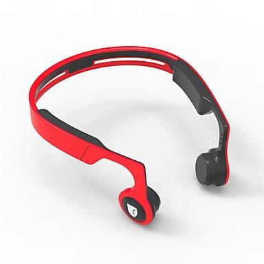 Cwxuan ES-268 Vezeték nélküli Fejhallgatók Dinamikus Műanyag Mobiltelefon Fülhallgató Mikrofonnal / A hangerőszabályzóval / Csontvezetés Fejhallgató
