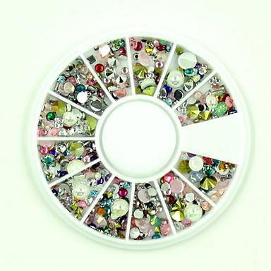 Rhinestones / Nail Jewelry Nail Art Design Glitters / Jelly / Fashion Daily