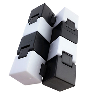Infinity Cubes Fidget Toy Magic Cube Educational Toy Stress Reliever Novelty Plastic Pieces Boys' Kid's Adults' Gift