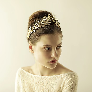 Imitation Pearl / Alloy Tiaras / Headbands with 1 Wedding / Special Occasion / Anniversary Headpiece