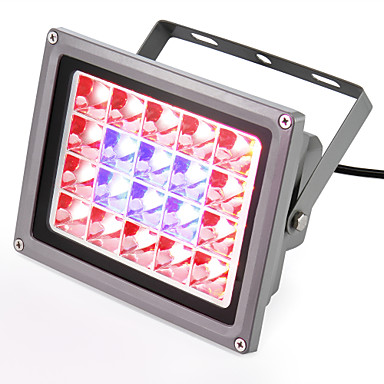 540-740lm Voksende lysarmatur 20 LED perler Høyeffekts-LED Blå Rød 85-265V