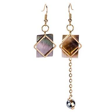 Női Szintetikus gyémánt Függők, Rendhagyó fülbevalók - Arany / Eltérés / Eltérés