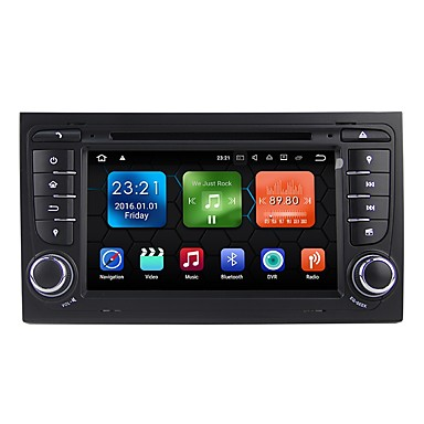 7 inch 2 DIN Android 7.1 High Definition / Bluetooth / Built-in Bluetooth for Audi / Seat Support / GPS / RDS / WiFi / Touch Screen