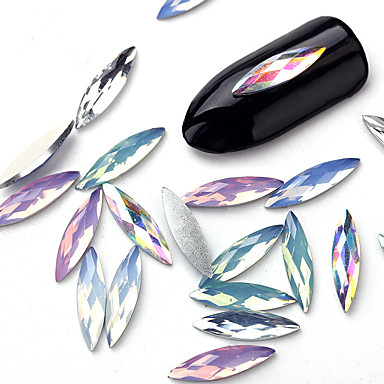 Rhinestones Cute nail art Manicure Pedicure Daily Fashion / Shiny