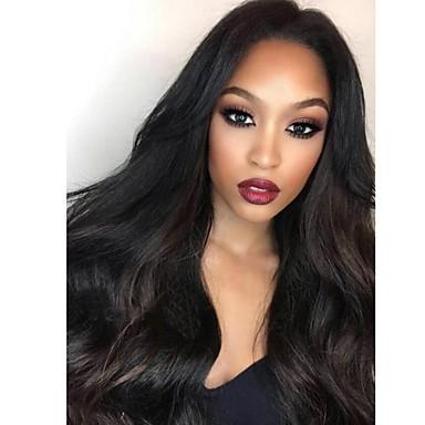 Remy haj Csipke eleje Paróka Brazil haj Hullámos 130% 150% 180% Sűrűség Baba hajjal glueless A feldolgozatlan Természetes hajszálvonal
