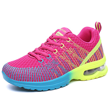 Women's Shoes PU(Polyurethane) Summer / Fall Comfort Sneakers Gray / Purple / Pink
