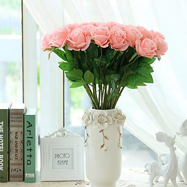 Művirágok 10 Európai Rózsák Asztali virág / Nem tartozik hozzá