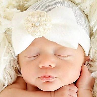 6273e6f07 Recién nacido Batista de algodón Accesorios para el Cabello Blanco   Rosa    Azul claro Tamaño Único   Gomas de Pelo