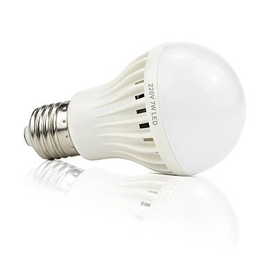 abordables Ampoules électriques-1pc 4.5 W Ampoules LED Intelligentes 420 lm 22 Perles LED SMD 2835 Audio-activé Décorative Contrôle de la lumière Blanc 220 V