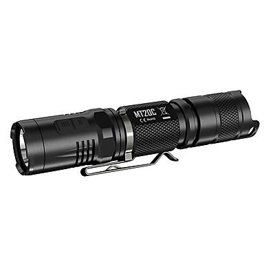 Nitecore MT20C Lanternas LED LED 460lm lm 5 Modo LED Cree XP-G2 R5 Resistente ao Impacto Recarregável Regulável Campismo / Escursão /