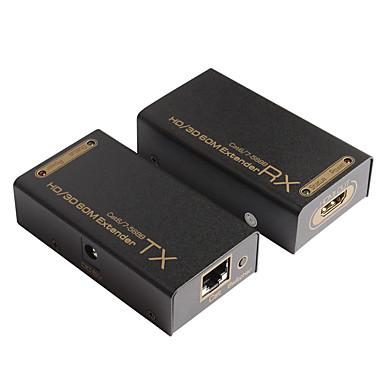 HDMI 1.3 HDMI 1.4 Hosszabbító kábel, HDMI 1.3 HDMI 1.4 to HDMI 1.3 HDMI 1.4 RJ45 Hosszabbító kábel Papa - Mama 1080P Aranyozott réz 40.0m