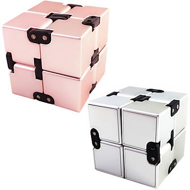 Végtelen kockák Fidget Toys Rubik-kocka Újdonság Fémes Műanyag Darabok Gyermek Felnőttek Fiú Lány Játékok Ajándék