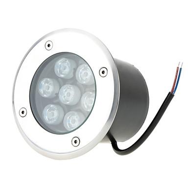 HKV® Waterproof 7W LED Underground light Ground Garden Path Floor Lamp Outdoor Underground Buried Yard Lamp Landscape Light