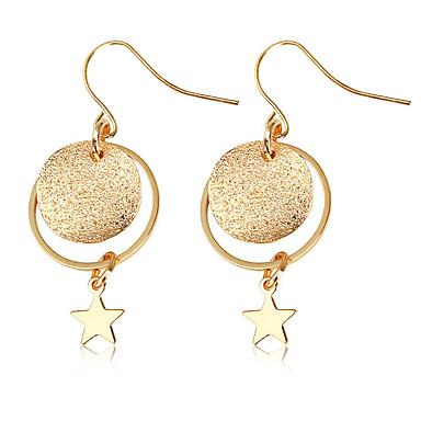 Női Zvijezda Függők - Személyre szabott / Divat Arany Circle Shape Fülbevaló Kompatibilitás Napi / Alkalmi