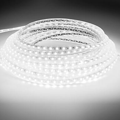 18m 1080 LED 5050 SMD Varm hvit / Hvit / Blå Vanntett 220 V / IP65