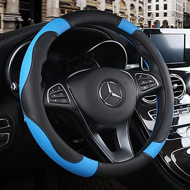 رخيصةأون اكسسوارات السيارات الداخلية-أغطية إطارات القيادة 38cm عنابي / برتقالي / أصفر من أجل شفروليت Aveo / Cruze / Epica