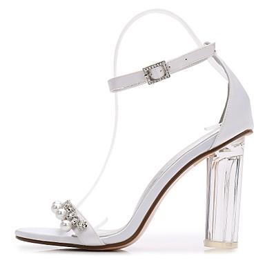 Printemps Bride Bottier Basique Femme Chaussures Eté Satin IUqwY