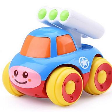 Játékautók Fejlesztő játék Felhúzós járművek Hátrahúzós autó Daru Autó Műanyagok Uniszex Gyermek Ajándék