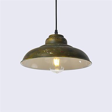 észak-európai évjárat ipar fém árnyék pendant lámpák 1-lámpák étkező nappali konyha festett felület