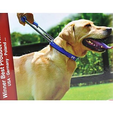 Dog Collar Adjustable / Portable / Anti-Slip Solid Colored Nylon Black