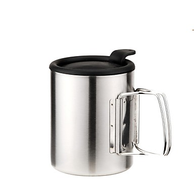 Camping Cup Single Stainless Steel for Camping / Hiking Picnic