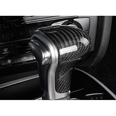 voordelige Auto-interieur accessoires-Autoproducten Voertuig Shift Knop Refit(Carbonvezel)Voor Audi 2013 2014 2015 2016 A4L